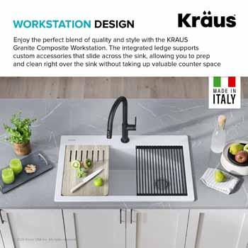 Kraus Sink Workstation Information
