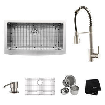 Kraus All Included Items - Stainless Steel