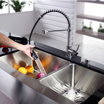 Kraus Bottom Sink Specifications
