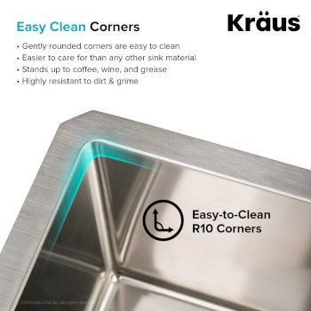 Easy Clean Corners Info