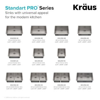 Standart PRO Series Sinks