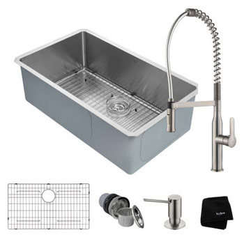 All Included Items - Stainless Steel