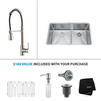 Kraus Sink Set