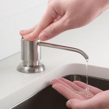 SS Chrome - Soap Dispenser