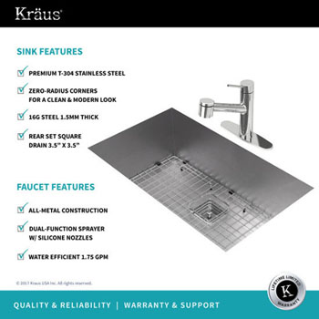 Sink/Faucet Features