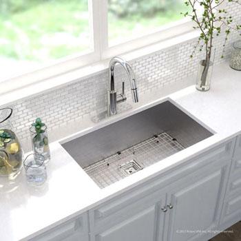 Kitchen Sink Set - Chrome