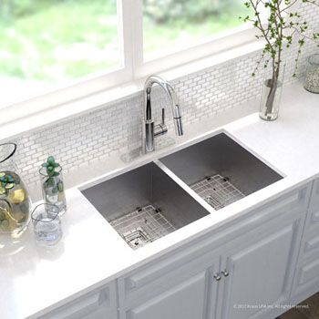Kitchen Sink Set - Chrome