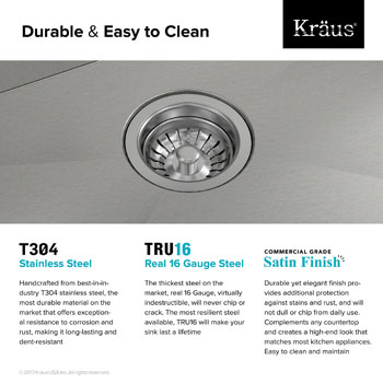 Durable and Easy to Clean