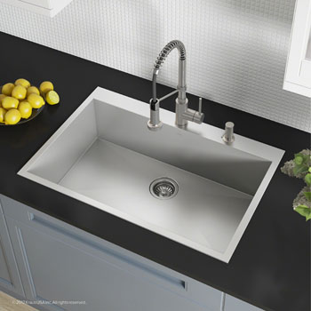 2 Pre-Drilled Hole Sink Set