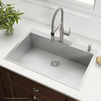 4 Pre-Drilled Hole Sink Set