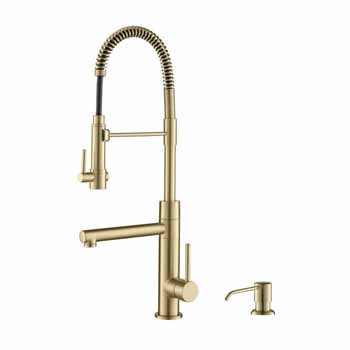 Kraus Artec Pro in Antique Champagne Bronze Display View