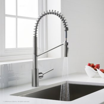 Chrome Faucet On Illustration