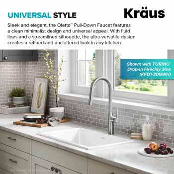 Kraus Oletto Kitchen Faucet Manufacturer Information