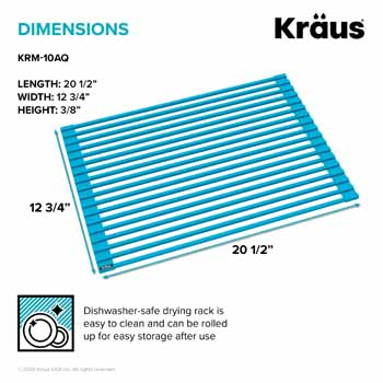 Kraus Aqua Drying Rack Dimensions