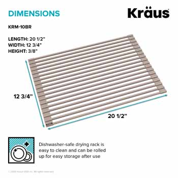 Kraus Brown Drying Rack Dimensions