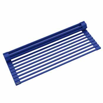 Kraus Dark Blue Drying Rack Display View