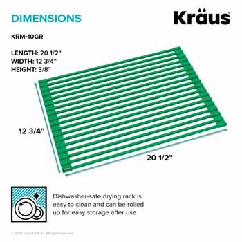 Kraus Green Drying Rack Dimensions