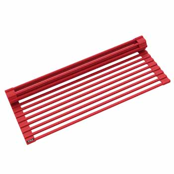 Kraus Red Drying Rack Display View