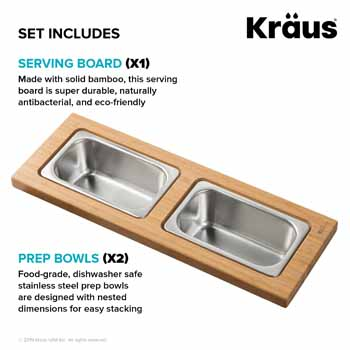2 Bowl - Set Includes