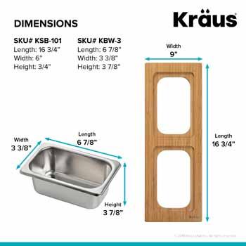 2 Bowl - Dimensions