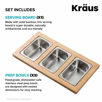 3 Bowl - Set Includes