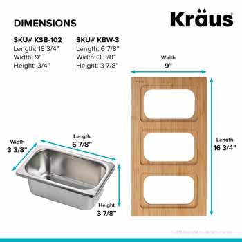 3 Bowl - Dimensions
