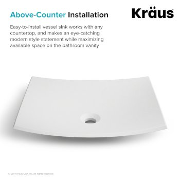 Above Counter Installation Info