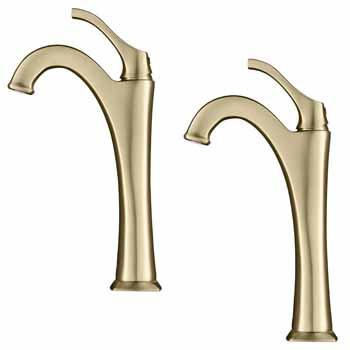 Brushed Gold - Faucet 2 Pack