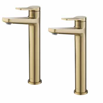 Brushed Gold - Faucet Display View