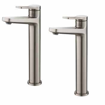 Spot-Free Stainles Steel - Faucet Display View