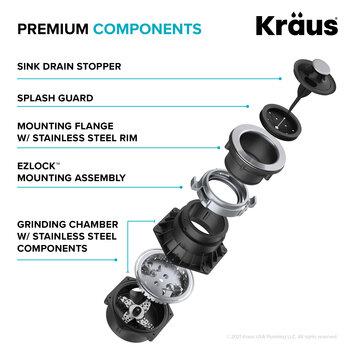 KRAUS Premium Components Info