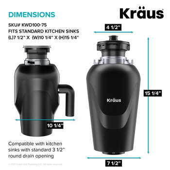 KRAUS Dimensions Specs