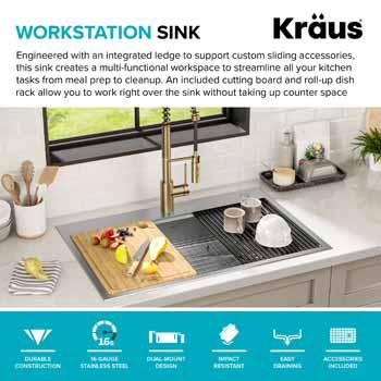 Workstation Sink