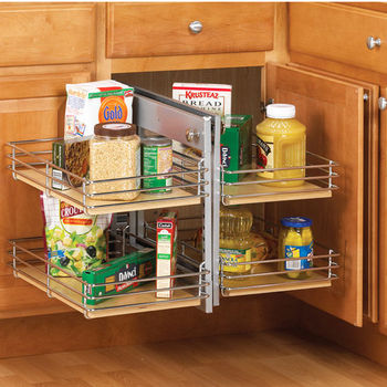 Corner Organizers Shop For Blind Corner Kitchen Cabinet Optimizers And Corn