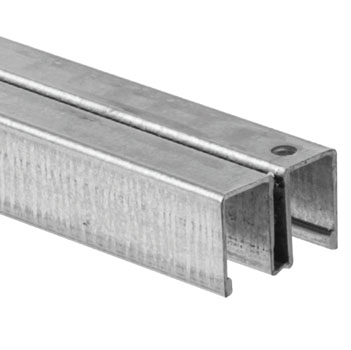 "144"" 993 Zinc Upper Channel Guide Track"