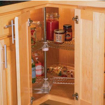 Kidney Lazy Susans for Kitchen Cabinets - Shop Wood, Plastic ...