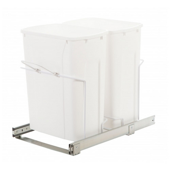Knape & Vogt Double Waste / Recycling Units