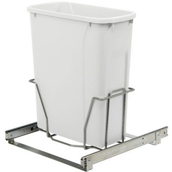 20 Qt. Wide Mount White