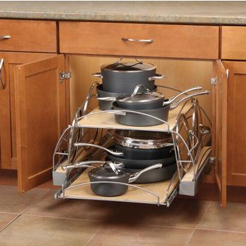 Cookware Organizers - Pot & Pan Organizers & Bakeware ...