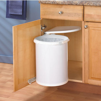 Knape & Vogt Pivot-Out Waste Bin - 32 Quarts (8 Gallons)