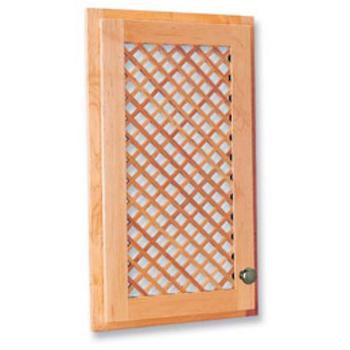 Lattice Door Inserts