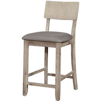 Counter Stool, Grey Wash Product View