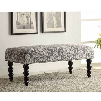 Claire Fabric Bench