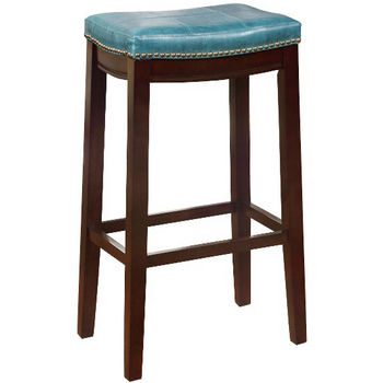 Blue Bar Stool Product View