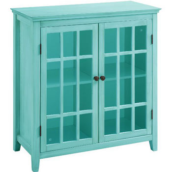 Turquoise Double Door Cabinet Product View