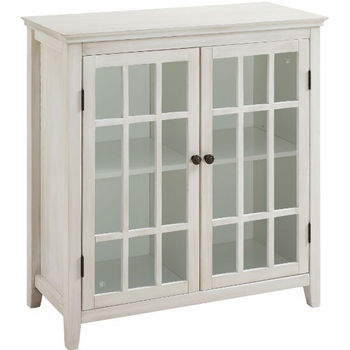 White Double Door Cabinet Product View