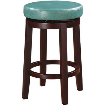 Teal Counter Stool Product View