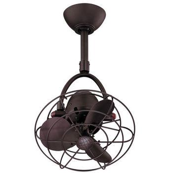 Matthews Fan Diane Single Oscillating Directional Ceiling Fans