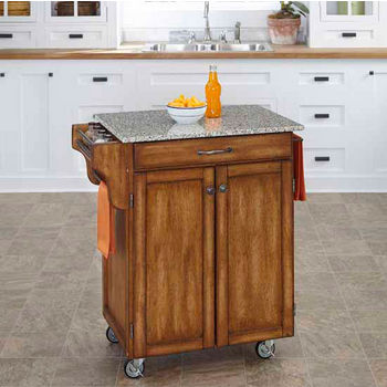 Home Styles Mix and Match Kitchen Cart