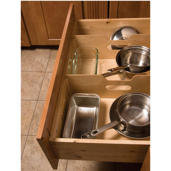 Deep Drawer Inserts & Peg Systems: An Easy Way to Keep Bowls and ...